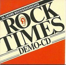 Audio Rock Times Demo Mini CD Various Audiophile Super RAR