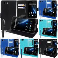 Schutz Hülle für DOOGEE X5/ X5S/ X5 Pro Handy Brieftasche Flip Case Cover Etui