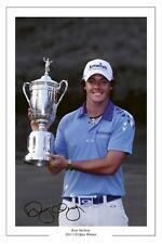Rory McILROY US Open Golf WIN 2011 firmato foto stampa