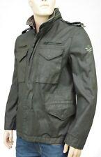 IKKS MEN Veste Army  homme kaki enduit imperméable Jacket Taille L M44204357