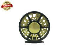 Rudder Light weight Fly Reel Fishing Reels  3/4, 5/6, 7/8 Green 1 PC