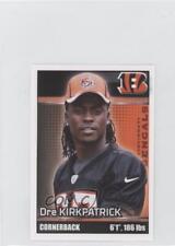 2012 Panini Album Stickers #82 Dre Kirkpatrick Cincinnati Bengals Football Card