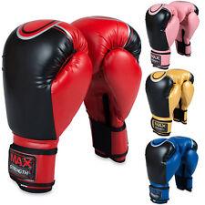 Boxeo Guantes MMA Combate Saco de Muay Thai Entrenamiento Fight Almohadillas