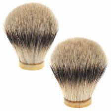 20 - 24mm Badger Level Silvertip Wet Shaving Brush Hair Knot Head DIY Shave Tool