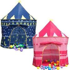 CHILDREN KIDS POP UP CASTLE PLAYHOUSE GIRLS PRINCESS  BOYS WIZARD PLAY TENT
