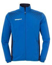Uhlsport Mens Goal Sports Football Full Zip Jacket Tracksuit Top Azurblue Navy