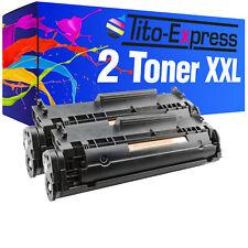 2 Toner ProSerie für HP CB435A CB436A CE278A CE285A CF279A CF283A Q2612A