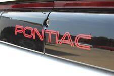 Pontiac Firebird Trans AM Rear Tail Light Filler Graphic Decal 1991-92 GTA ONLY