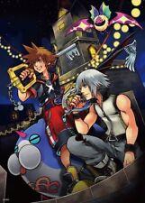 Kingdom Hearts Poster Sora, Riku, Roxas Group High Grade Glossy Laminated