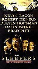 SLEEPERS, BRAD PITT, ROBERT DE NIRO, DUSTIN HOFFMAN, KEVIN BACON, VHS 1997