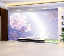 3D Flower Pattern Butterfly 668 Wall Paper Wall Print Decal Wall AJ WALLPAPER CA