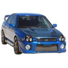 Wrx Sti Zero Front Bumper Body Kit 1 Pc For Subaru Impreza 02-03 Duraf
