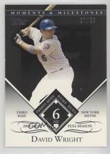 2007 Black 99-6 David Wright (2005 First Full Season 27 Home Runs) New York Mets