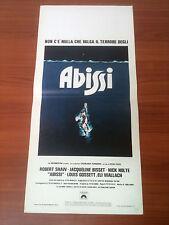 ABISSI locandina poster Shaw Bisset Nolte The Deep 1977 K78