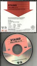 Aaron Lewis STAIND Falling PROMO DJ CD single 2005 Taproot Flyleaf TOUR DATES