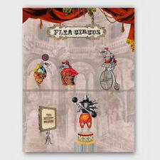 The Flea Circus art print
