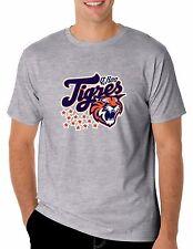 Baseball Tigres de Quintana Roo T-Shirt for Men's Color Gray 100% Cotton