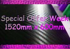Fibra De Carbono Texturado Vinilo Hoja pegatina 600 Mm x1520mm