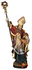 Statua San Cristiano in Legno con Libro. St. Christian with Book wooden Statue