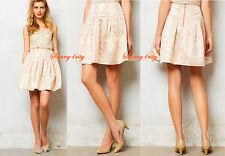 NEW sz 6 8 Anthropologie Sugarplum Brocade Skirt By Moulinette Soeurs $128 Rare!