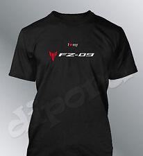 T-shirt personalizzato FZ09 S M L XL XXL uomo moto FZ-09