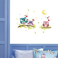 DIY Owl Birds Branch Vinyl Kids Room Home Decor Mural PVC Wall Stickers Art FW
