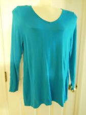 Lane Bryant Turquoise Sweater 60% Cotton 40% Rayon New W Tag  sz 14 16