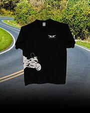 Honda Goldwing 1800 Trike Custom Tee Shirt... BLACK--WHITE Short or Long Sleeve