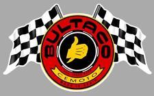 Sticker BULTACO Flags