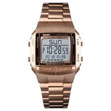 bc103cb736ff Reloj Digital para hombres Niños 5 alarmas Negro Con Cronómetro Luz 3  Colores Disponibles