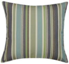 Sunbrella Brannon Whisper Indoor/Outdoor Striped Pillow