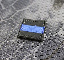 Aufnäher Patch Moralepatch Klett Thin Blue Line Polizei Justiz Solidarität  EDC