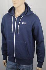 Polo Ralph Lauren Sport Navy Blue Full Zip Athletic Hoodie NWT