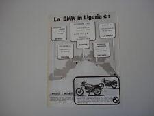 advertising Pubblicità 1979 MOTO BMW R45 R 45 e R65 R 65