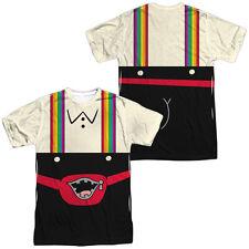 Uncle Grandpa - Lederhosen Front & Back Sublimation Adult T Shirt