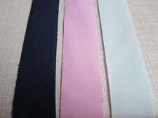 5 metros - 37 mm desplegado algodón cinta de bies-Elige Color