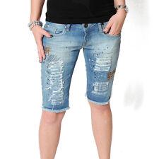 VSCT Glamrock Bermuda Jeans Short Denim Shorts blue Kurze Hose Pant Damenshort