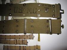 US Army USMC Cinturone buco Cinturone m44 MARINE CORPS WWII wk2 1944 -105 dalla Depot