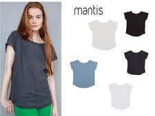 maglietta donna manica corta cotone mantis t-shirt ampia personalizzabile