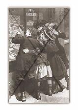 Giclee Art Print/cartel Raro Victoriano Lindo Fry's Chocolate Publicidad reimpresión