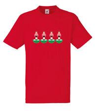 Subbuteo cuatro Sunderland Rojo T-Shirt Todos Las Tallas