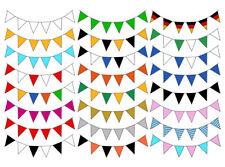 10 m wimpelkette wimpelgirlande guirnalda fiesta de cumpleaños decoración decorativas Event
