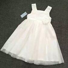 NEW Kids Girls Sleeveless Ivory Satin Dress 2.4.5.6.8  Wedding birthday