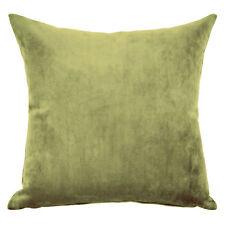 Mystere Olive Velvet Cushion Cover