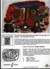 Klappkarte Aboriginal Art: Stumpy Brown, Boughshed No.