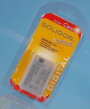 wie Canon LP-E5 Soligor Li-Ion Akku SLP-E5 7.4V 1100mAh battery batterie - 12345