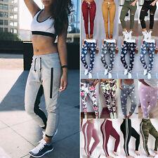 Womens Sweatpants Jogger Harem Pants Sports Yoga Baggy Slacks Trousers Casual