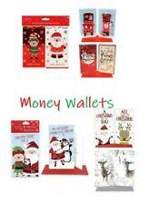 Christmas Money Gift Wallet Card Moneyholder