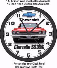 1969 CHEVROLET CHEVELLE SS396 WALL CLOCK-FREE USA SHIP