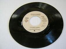 Chuck Howard Love Won't Work/Same(MONO Promo) 45 RPM Warner Bros Records